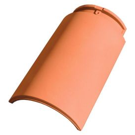 Faitière rouge pour tuile Klinker K2 et Meridional