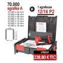 Kit agrafeuse 12/16 P2 + 70 000 agrafes A