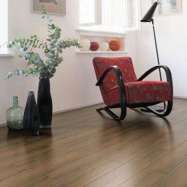 Parquet liège Chêne Italica Fumé brossé XL Design Arteo