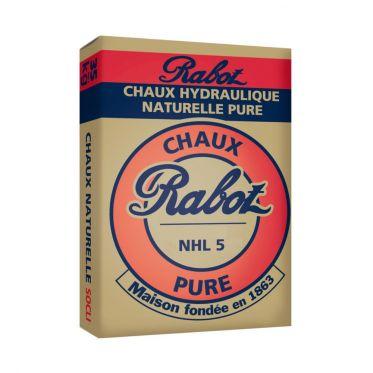 Chaux hydraulique naturelle Rabot pure NHL 5