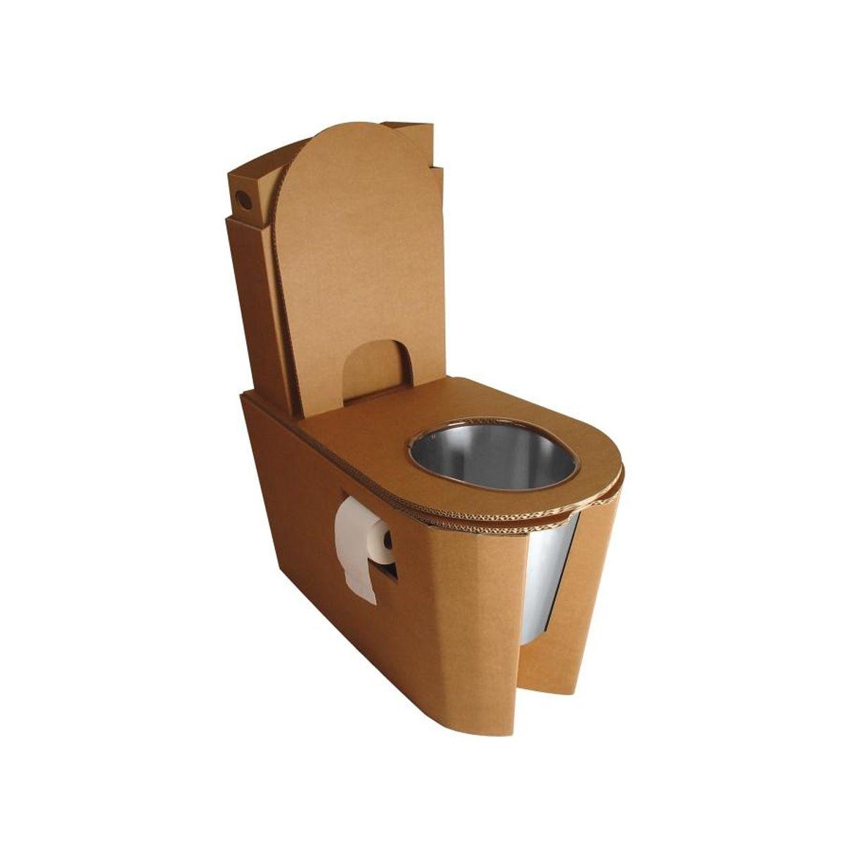 Toilettes Sèches En Appartement toilette sèche buzz en carton| kenzaï matériaux Écologiques