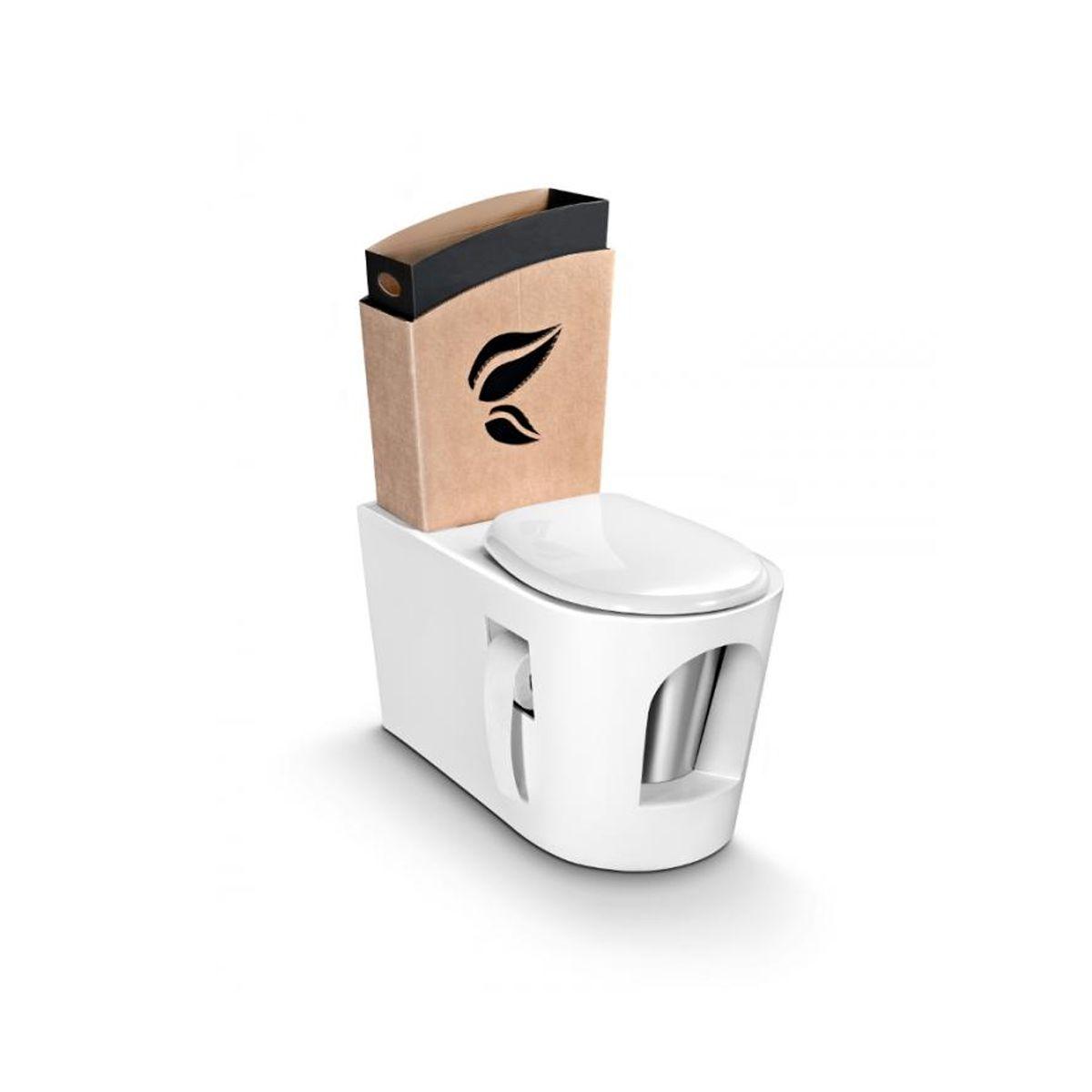 Toilettes Sèches En Appartement toilette sèche en bois blanc | kenzaï matériaux Écologiques