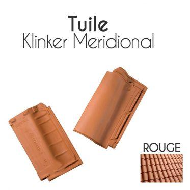 Tuiles Klinker Meridional et accessoires Cobert - Rouge