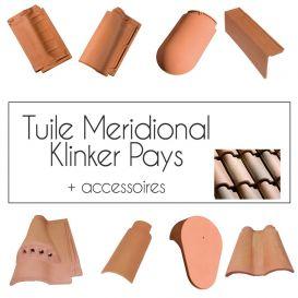 Tuiles Klinker Meridional Pays Cobert et accessoires