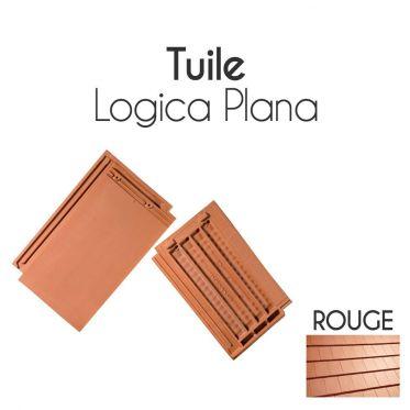 Tuiles Logica Plana Cobert et accessoires - Rouge