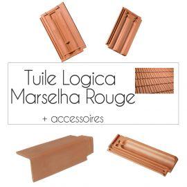 Tuiles Logica Marselha et accessoires Cobert - Rouge