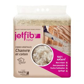 Jetfib'nature Ignifuge Isolant Chanvre