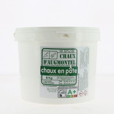 Chaux en pâte d'Augmontel 6 kg