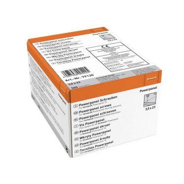Vis pour plaque Powerpanel Sol TE 3,5 x 23 mm (boite de 500 vis)