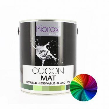 Peinture mate teintée d'origine végétale Cocon Biorox