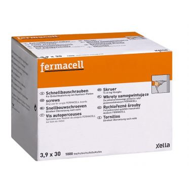 Boîtes de Vis autoperceuses Fermacell 3,9x30mm 1000