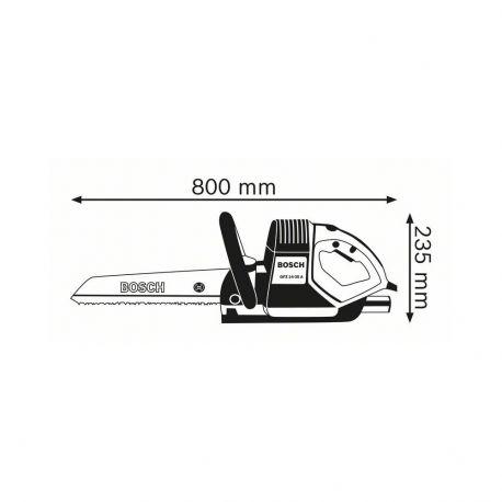 Scie égoïne tandem électrique Bosch