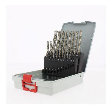 Assortiment de 19 forets à métaux HSS-G Probox Bosch