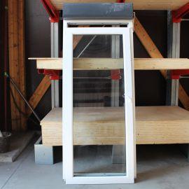 Porte fenêtre bicolore 1 vantail avec volet roulant 2150 x 900 mm