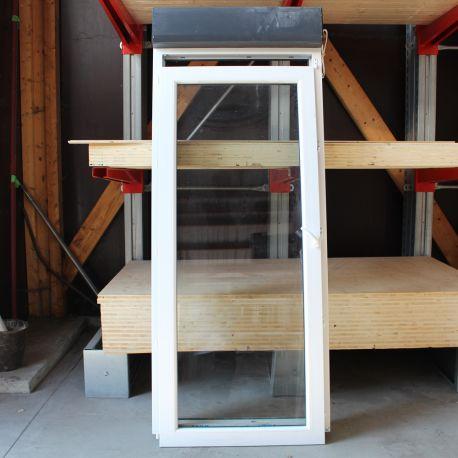 Porte Fenêtre Bicolore 1 Vantail Volet Kenzaï Matériaux écologiques