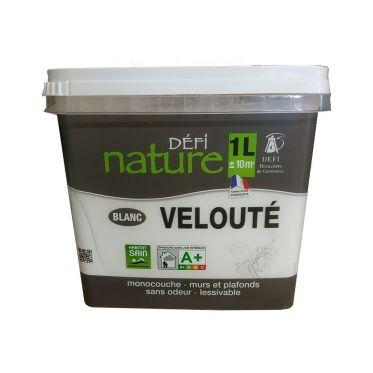 Peinture végétale Défi nature Blanc Velouté 1L