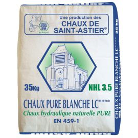 La chaux pure blanche - NHL3.5