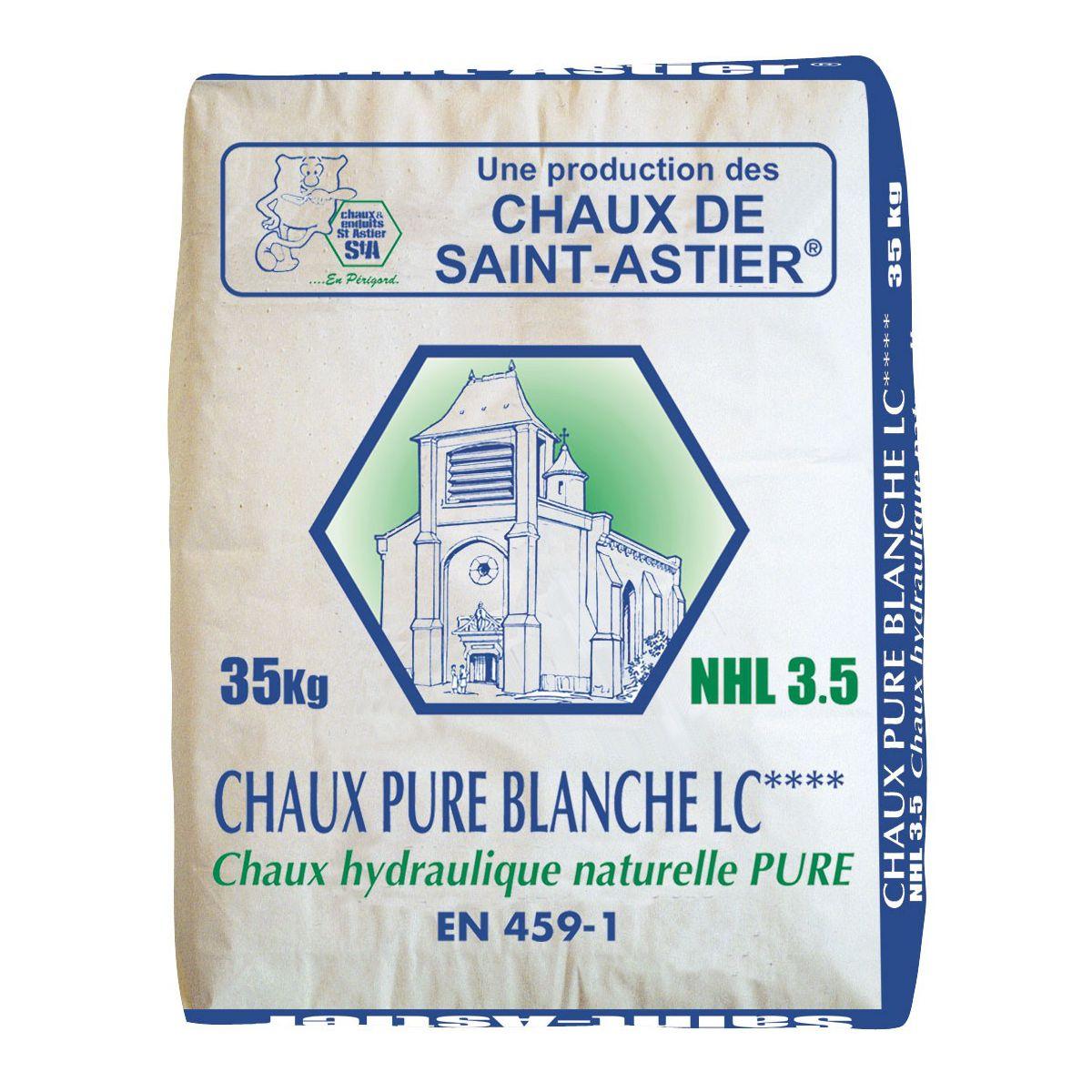La chaux pure blanche nhl3 5 - Sac de chaux ...