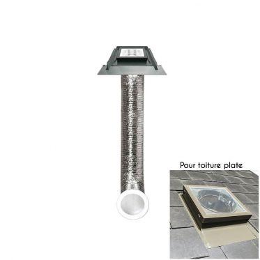 Puit de lumière SFH pour couvertures ondulées + kit complet