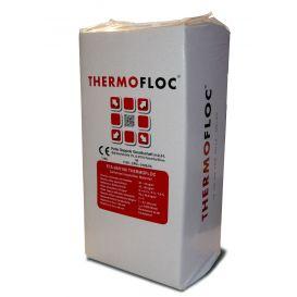 Ouate de cellulose en vrac à souffler Thermofloc sans sel de bore