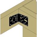 Équerre de structure ABR100PB pour support bois et béton