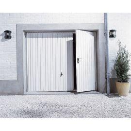 Porte de garage basculante N80 avec portillon Larg. 2500 x Haut. 2000 mm