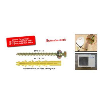 Kit de fixations pour sabot de charpente Ø12 x 130