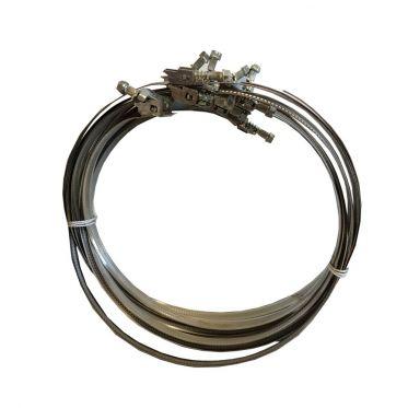 Collier de serrage en acier inox