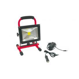 Projecteur de chantier à LED 20W rechargeable