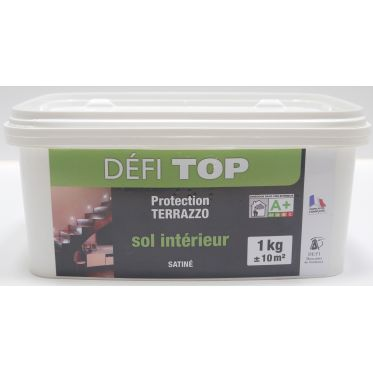 Vernis de finition incolore satiné Defitop pour sols et murs