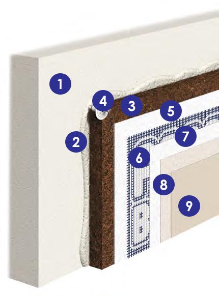 plaque de li ge expans surcomprim 25 mm liegp25sc rev tement sol et mur. Black Bedroom Furniture Sets. Home Design Ideas