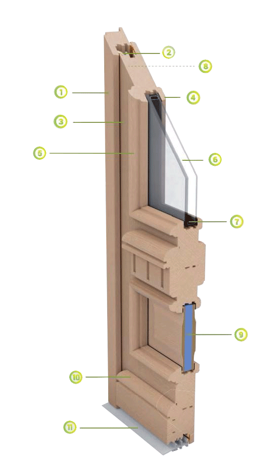 fenêtre bois tradi