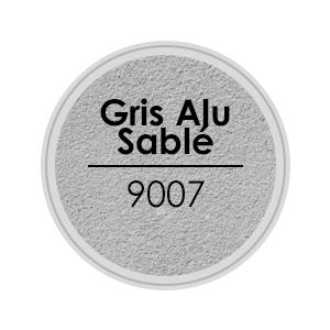 porte alu gris alu sable