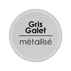 porte alu gris galet metallise